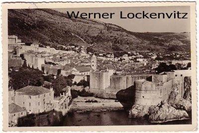 Ansichtskarte Kroatien Dubrovnik Ragusa Pogled sa tvrdjave Lovrijenac