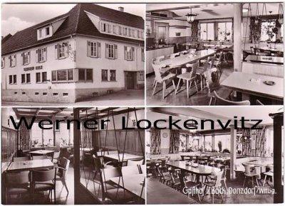 Ansichtskarte Donzdorf Gasthof zum Bock mehrfach