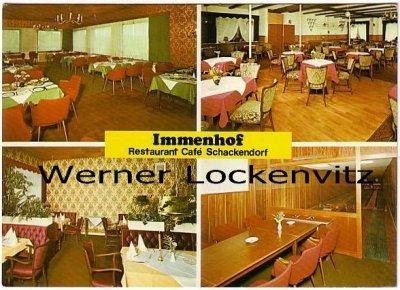 Ansichtskarte Schackendorf Restaurant-Cafe Immenhof