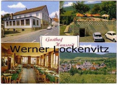 Ansichtskarte Rothenkirchen im Frankenwald Gasthof Hansveit