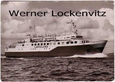 Ansichtskarte Dampfer Langeland Schiffe ferry Fähre Passagierschiffe