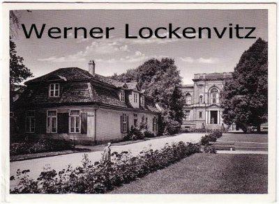 Ansichtskarte Wolfenbüttel Lessinghaus und Bibliothek