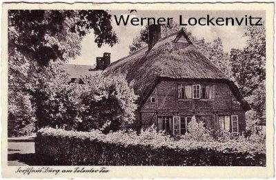 Ansichtskarte Forsthaus Burg am Selenter See bei Selent