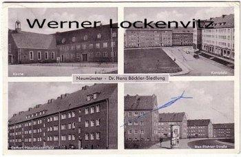 Ansichtskarte Neumünster Dr. Hans Böckler-Siedlung Kantplatz