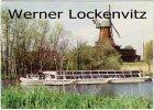 Ansichtskarte Hamburg-Bergedorf Dampfer Fleetenkieker und Mühle