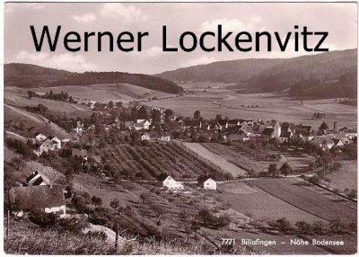 Ansichtskarte Langenenslingen Owingen Billafingen Nähe Bodensee Ortsansicht Panorama