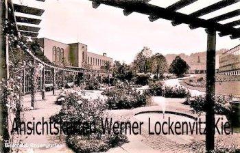Ansichtskarte Bielefeld Rosengarten
