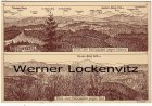 Alte Ansichtskarte 01855 Sebnitz-Hinterhermsdorf Blick vom Königsplatz