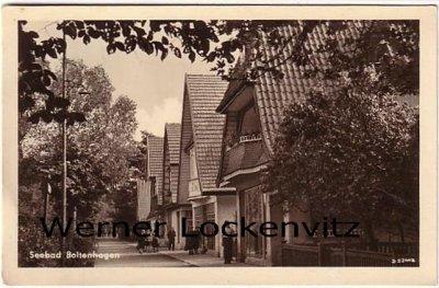 Ansichtskarte Boltenhagen Straßenansicht