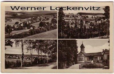 Ansichtskarte Bad Elster-Sohl Vogtland Panoramen