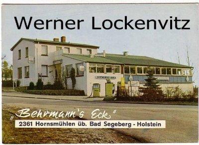 Ansichtskarte Hornsmühlen über Bad Segeberg Gaststätte Behrmann's Eck