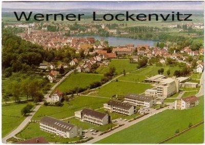 Ansichtskarte Bad Waldsee Ortsansicht Luftbild