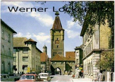 Ansichtskarte Biberach an der Riss Ulmer Tor