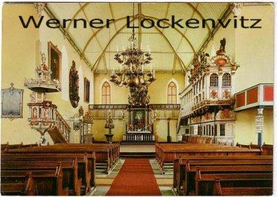 Ansichtskarte Rendsburg Christkirche Innenansicht