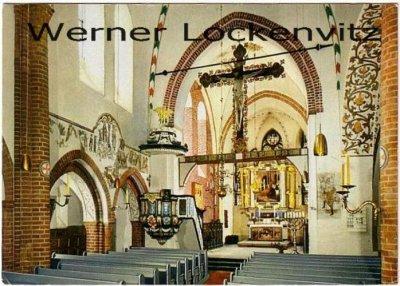 Ansichtskarte Mölln St. Nicolai-Kirche Innenansicht