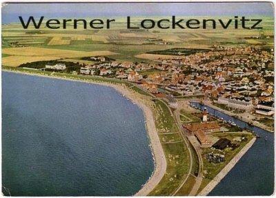 Ansichtskarte Büsum Ortsansicht Panorama Luftbild
