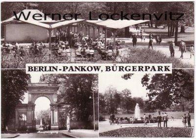 Ansichtskarte Berlin-Pankow Bürgerpark