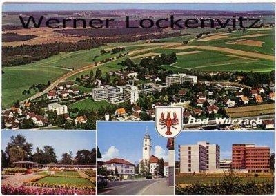 Ansichtskarte Bad Wurzach mehrfach Panorama Luftbild