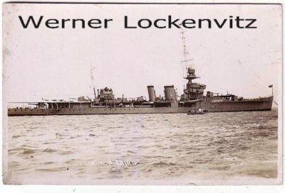 Ansichtskarte HMS Cairo Real Photo