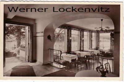 Ansichtskarte Kosel bei Eckernförde Missunder Fährhaus Inh. H. Jöns Innenansicht