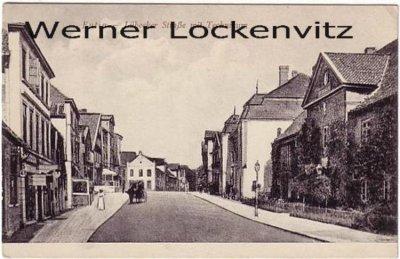 Ansichtskarte Eutin Lübecker Straße mit Technikum