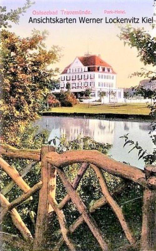Ansichtskarte Lübeck-Travemünde Park-Hotel