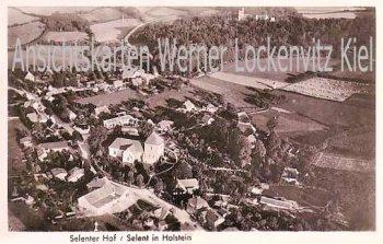 Ansichtskarte Selent in Holstein Selenter Hof Luftbild