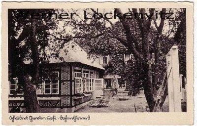 Ansichtskarte Dahme-Dahmeshöved Schröders Garten Cafe
