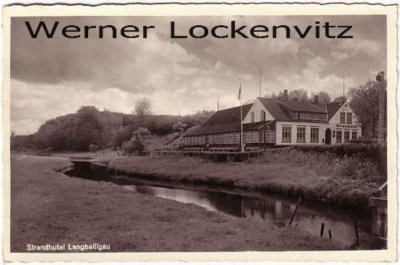 Ansichtskarte Langballig Langballigau Strandhotel Remmer Nr. 133