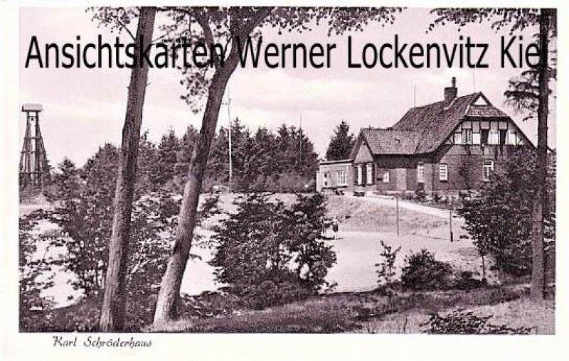 Ansichtskarte Nortorf Ev. Jugendheim Waldheim am Brahmsee