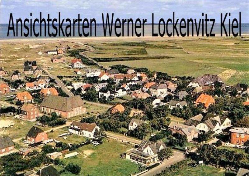 Ansichtskarte Norddorf auf Amrum Ortsansicht Luftbild