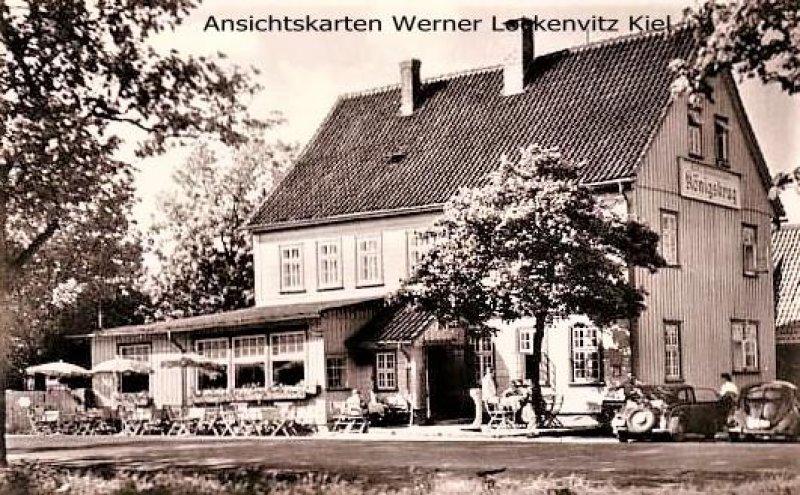 Ansichtskarte Braunlage Gaststätte Königskrug Inh. Elise Knoth