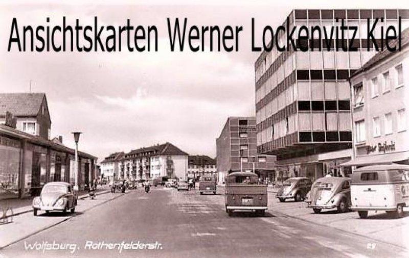 Ansichtskarte Wolfsburg Rothenfelderstraße