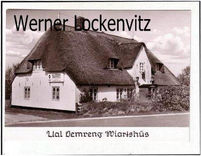 Ansichtskarte Norddorf auf Amrum Gasthaus Ual Oemreng Wiartshüs