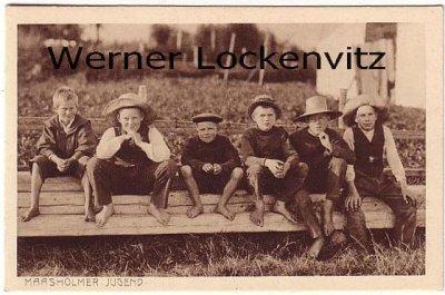 Ansichtskarte Maasholm bei Kappeln Maasholmer Jugend