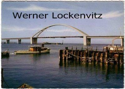 Ansichtskarte Fehmarnsund-Brücke an der Vogelfluglinie