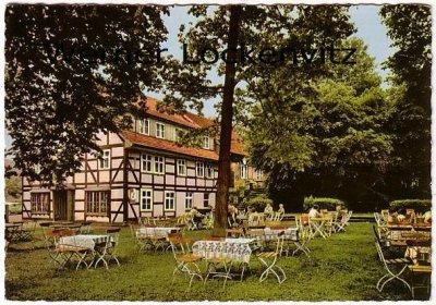 Ansichtskarte Moringen Waldhotel Stennebergsmühle Bes. Wilh. Ahrens