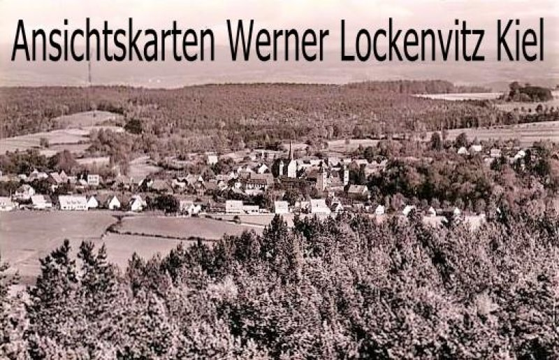 Ansichtskarte Thurnau Ofr. Ortsansicht Panorama