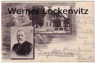 Ansichtskarte Steinfeld bei Schleswig Unser Reichstagabgeordneter Politik