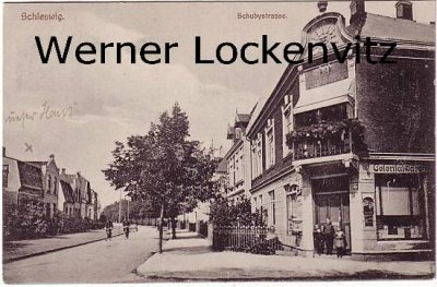 Ansichtskarte Schleswig Schubystrasse