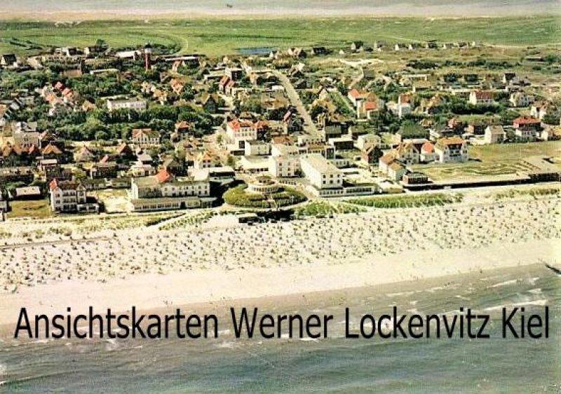 Ansichtskarte Wangerooge Panorama Luftaufnahme