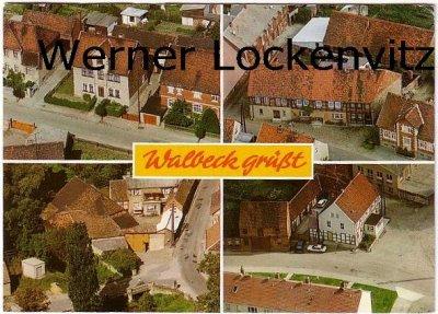 Ansichtskarte Walbeck Marienthaler Straße Steinweg Alllerbrücke Am Markt