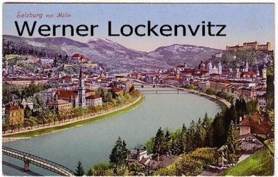 Ansichtskarte Österreich Salzburg Stadtansicht Panorama von Mülln