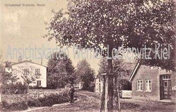 Ansichtskarte Grömitz Ortsansicht mit Hamburger-Heim