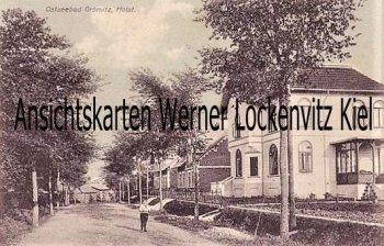 Ansichtskarte Grömitz Ortsstraße