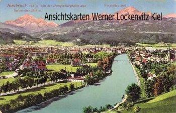 Ansichtskarte Innsbruck Panorama von der Hungerburgbahn aus gesehen