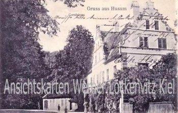 Ansichtskarte Husum Cornilshaus