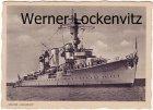Ansichtskarte Kreuzer Karlsruhe Schiffe Kriegsschiffe