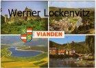 Ansichtskarte Luxemburg Luxembourg Vianden mehrfach Schloß Panoramen