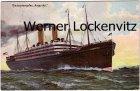Ansichtskarte  Riesendampfer Amerika Passagierschiff